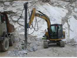 卡特8070挖机改装
