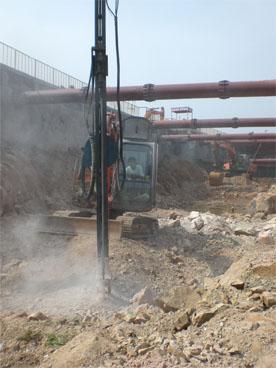 青岛一建地铁入口工程