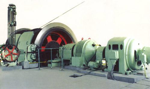 JK系列单绳缠绕式矿井提升机