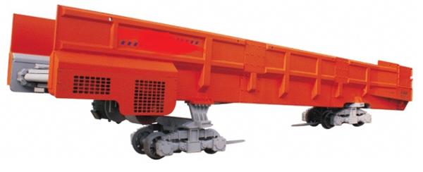大型梭式矿车·轨轮式梭式矿车